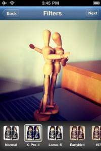 Les filtres photo rétro d'Instagram