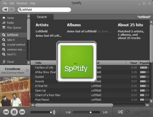 Le streaming musical sur Spotify