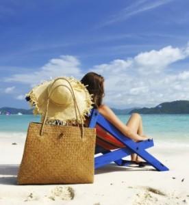 les produits de plage