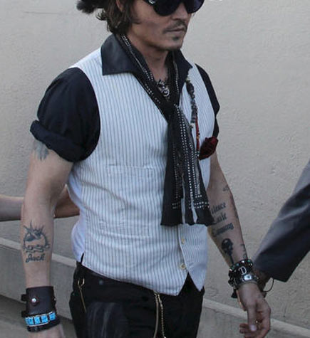 Johnny Depp ttatoo