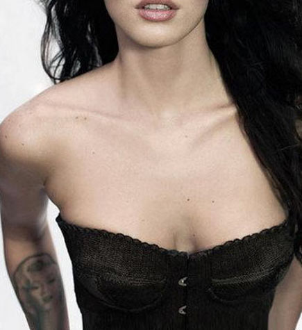 megan fox tatouage