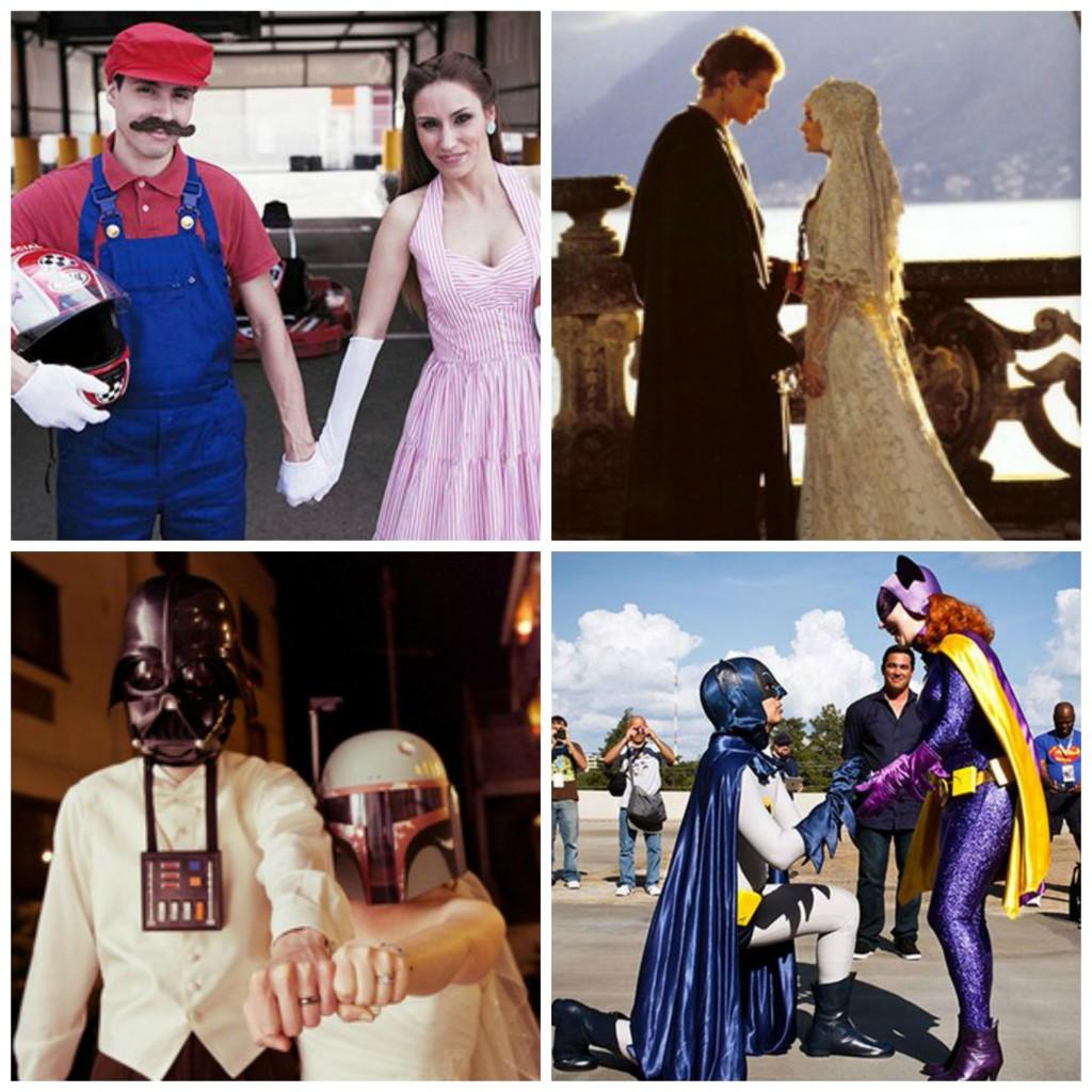 mariés geeks