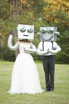 mariés robots