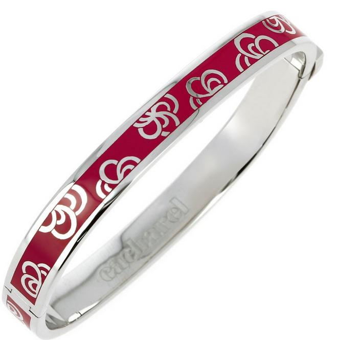 bracelet rouge argent cacharel