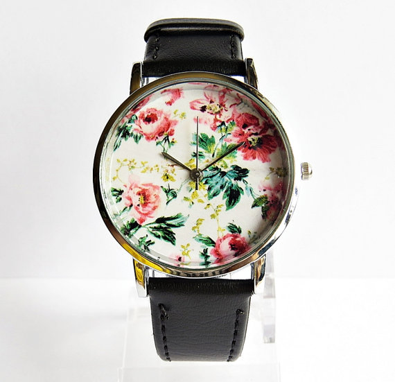 Style Vintage en cuir montre, Montres femme