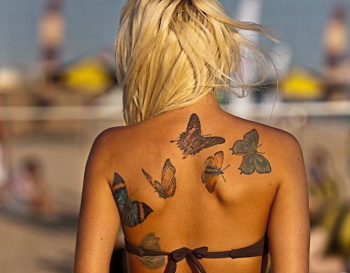 Le Tatouage Papillon Synonyme De Liberte Et De Changement Mademoiselle Web