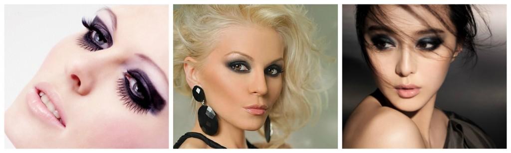 maquillage de fete noir