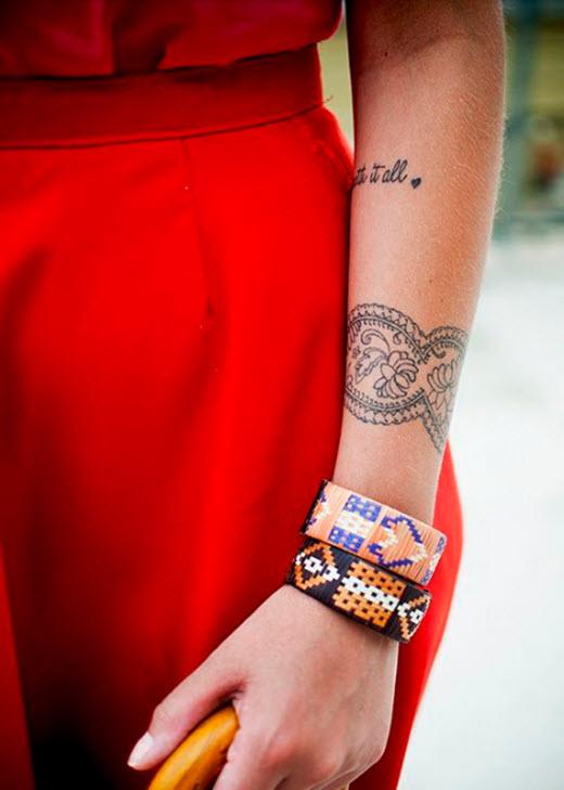 Tatouage Manchette Inspirations