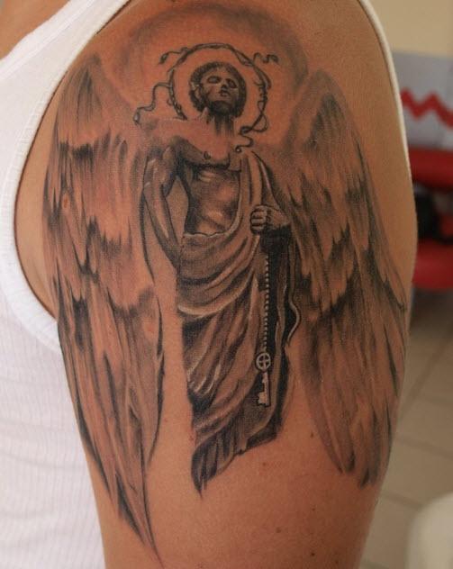 tatouage ange bras 2