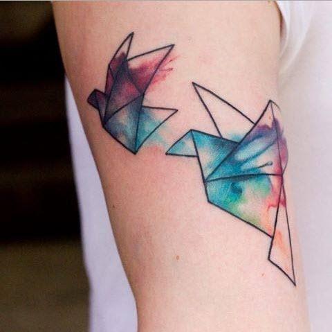 tatouage-origami-couleur