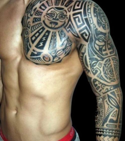 tatouage-samoan-torse